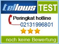 tellows Bewertung 02131996801