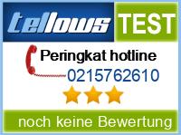 tellows Bewertung 0215762610