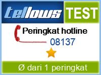 tellows Bewertung 08137