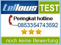 tellows Bewertung 0853354743592