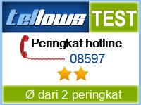 tellows Bewertung 08597